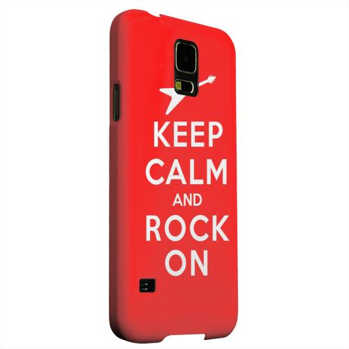 Geeks Designer Line (GDL) Samsung Galaxy S5 Matte Hard Back Cover - Red Rock On