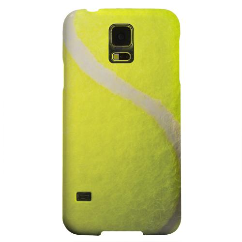 Geeks Designer Line (GDL) Samsung Galaxy S5 Matte Hard Back Cover - Tennis Ball