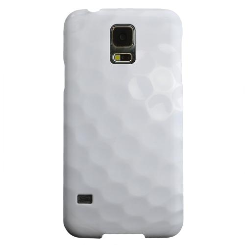 Geeks Designer Line (GDL) Samsung Galaxy S5 Matte Hard Back Cover - Golf Ball