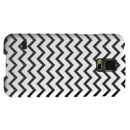 Geeks Designer Line (GDL) Samsung Galaxy S5 Matte Hard Back Cover - Black on White