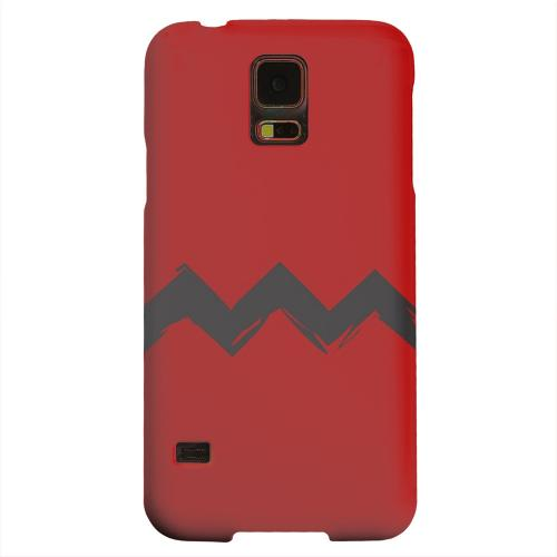 Geeks Designer Line (GDL) Samsung Galaxy S5 Matte Hard Back Cover - Red Good Grief!