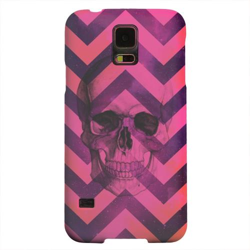 Geeks Designer Line (GDL) Samsung Galaxy S5 Matte Hard Back Cover - Pink Space Death