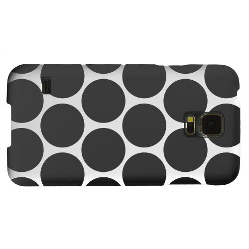 Geeks Designer Line (GDL) Samsung Galaxy S5 Matte Hard Back Cover - Big & Black