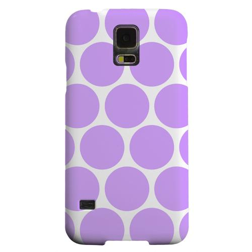 Geeks Designer Line (GDL) Samsung Galaxy S5 Matte Hard Back Cover - Big & Purple