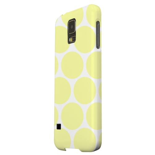 Geeks Designer Line (GDL) Samsung Galaxy S5 Matte Hard Back Cover - Big & Yellow
