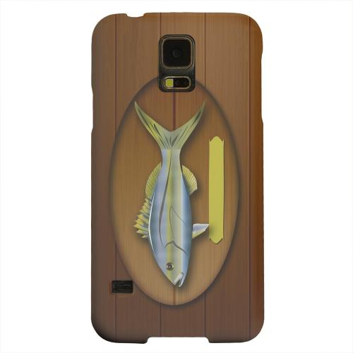 Geeks Designer Line (GDL) Samsung Galaxy S5 Matte Hard Back Cover - Fish Trophy
