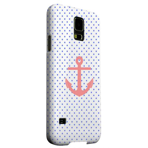 Geeks Designer Line (GDL) Samsung Galaxy S5 Matte Hard Back Cover - Anchor
