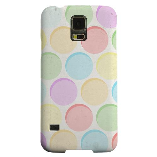 Geeks Designer Line (GDL) Samsung Galaxy S5 Matte Hard Back Cover - Grungy & Rainbow