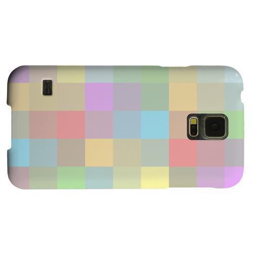 Geeks Designer Line (GDL) Samsung Galaxy S5 Matte Hard Back Cover - Pixelated