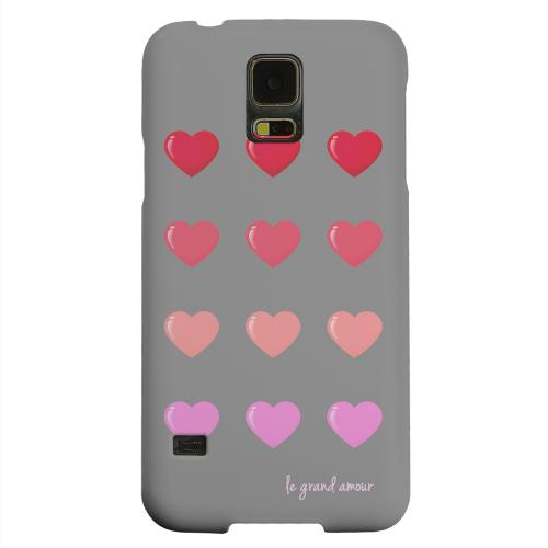 Geeks Designer Line (GDL) Samsung Galaxy S5 Matte Hard Back Cover - Le Grand Amour