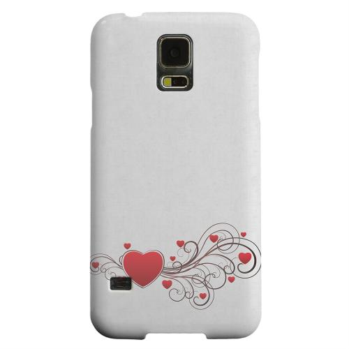 Geeks Designer Line (GDL) Samsung Galaxy S5 Matte Hard Back Cover - Love Bloom
