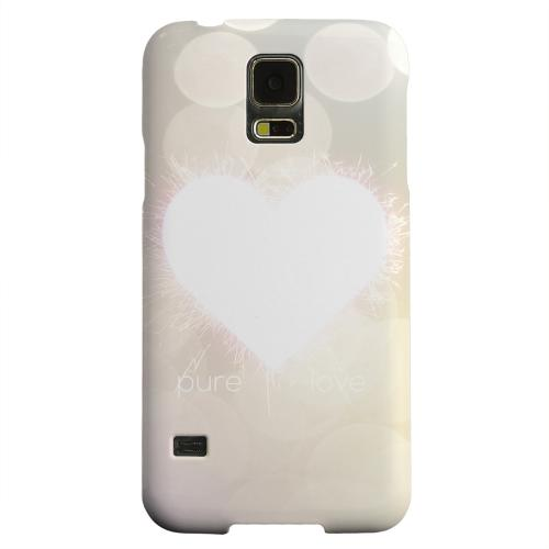 Geeks Designer Line (GDL) Samsung Galaxy S5 Matte Hard Back Cover - Pure Love