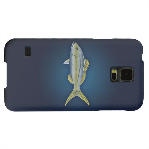 Geeks Designer Line (GDL) Samsung Galaxy S5 Matte Hard Back Cover - Yellowtail