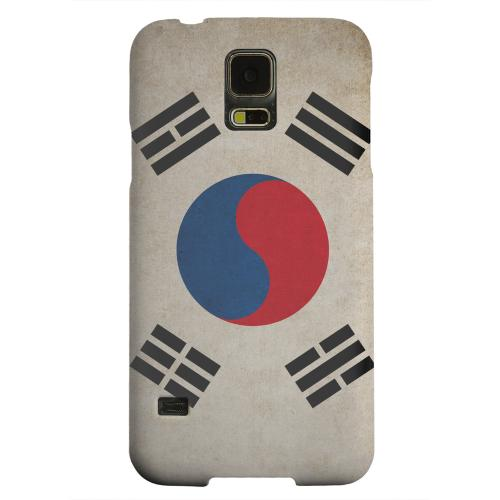 Geeks Designer Line (GDL) Samsung Galaxy S5 Matte Hard Back Cover - Grunge South Korea