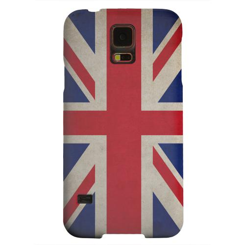 Geeks Designer Line (GDL) Samsung Galaxy S5 Matte Hard Back Cover - Grunge United Kingdom