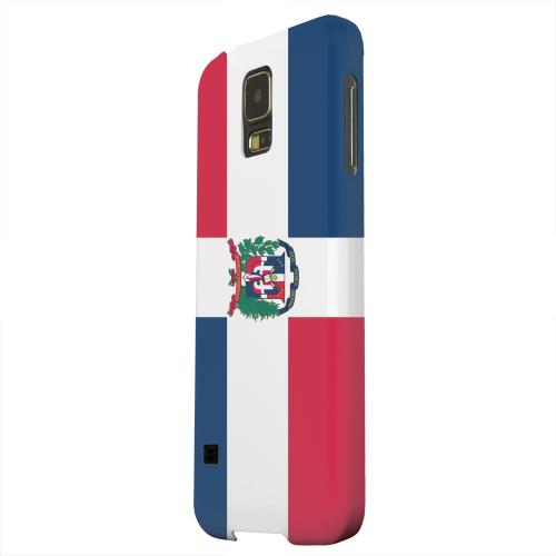 Geeks Designer Line (GDL) Samsung Galaxy S5 Matte Hard Back Cover - Dominican Republic