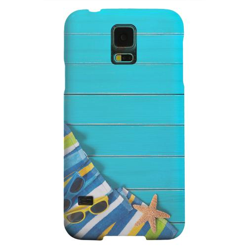 Geeks Designer Line (GDL) Samsung Galaxy S5 Matte Hard Back Cover - Decked Out