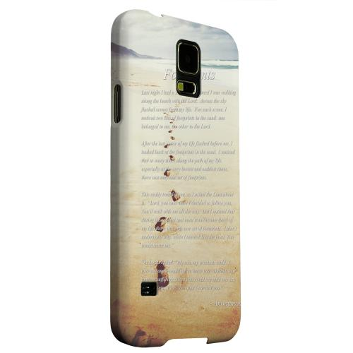 Geeks Designer Line (GDL) Samsung Galaxy S5 Matte Hard Back Cover - Footprints