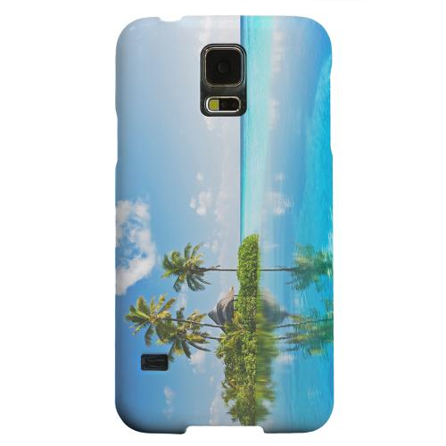 Geeks Designer Line (GDL) Samsung Galaxy S5 Matte Hard Back Cover - Tropical Paradise