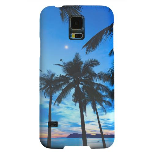Geeks Designer Line (GDL) Samsung Galaxy S5 Matte Hard Back Cover - Tropical Sunset
