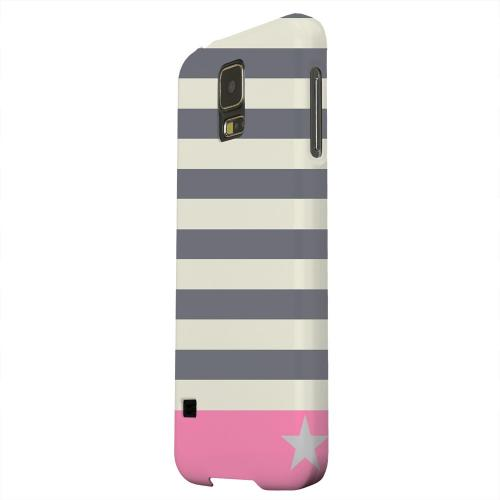 Geeks Designer Line (GDL) Samsung Galaxy S5 Matte Hard Back Cover - Bars & Stripes Forever