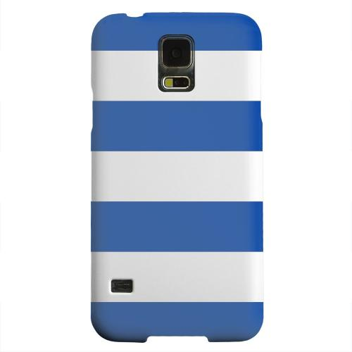 Geeks Designer Line (GDL) Samsung Galaxy S5 Matte Hard Back Cover - Big Blue