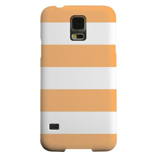 Geeks Designer Line (GDL) Samsung Galaxy S5 Matte Hard Back Cover - Big Orange