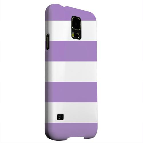 Geeks Designer Line (GDL) Samsung Galaxy S5 Matte Hard Back Cover - Big Purple