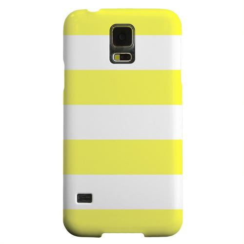 Geeks Designer Line (GDL) Samsung Galaxy S5 Matte Hard Back Cover - Big Yellow
