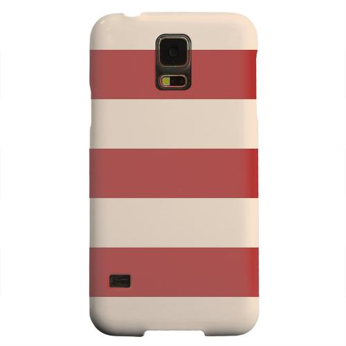 Geeks Designer Line (GDL) Samsung Galaxy S5 Matte Hard Back Cover - Linen Poppy Red