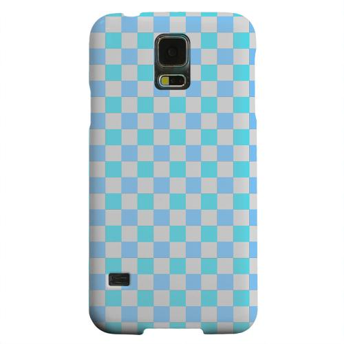 Geeks Designer Line (GDL) Samsung Galaxy S5 Matte Hard Back Cover - Blue Electric