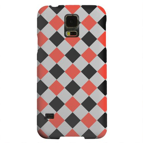 Geeks Designer Line (GDL) Samsung Galaxy S5 Matte Hard Back Cover - Charlatan on Gray