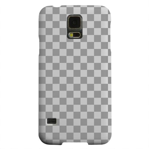 Geeks Designer Line (GDL) Samsung Galaxy S5 Matte Hard Back Cover - Gray/ Light Gray