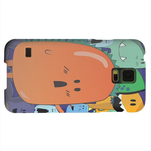 Geeks Designer Line (GDL) Samsung Galaxy S5 Matte Hard Back Cover - ZORGBLATS Orange Moob Close-Up