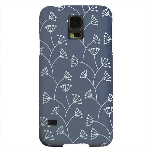 Geeks Designer Line (GDL) Samsung Galaxy S5 Matte Hard Back Cover - Simple Blue