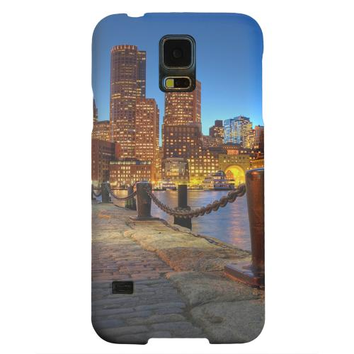 Geeks Designer Line (GDL) Samsung Galaxy S5 Matte Hard Back Cover - Boston