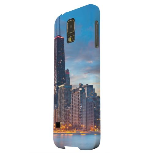 Geeks Designer Line (GDL) Samsung Galaxy S5 Matte Hard Back Cover - Chicago