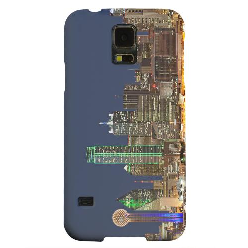 Geeks Designer Line (GDL) Samsung Galaxy S5 Matte Hard Back Cover - Dallas