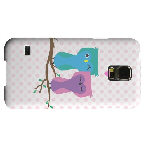 Geeks Designer Line (GDL) Samsung Galaxy S5 Matte Hard Back Cover - Owl Love You Forever