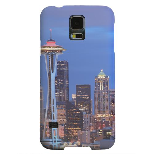Geeks Designer Line (GDL) Samsung Galaxy S5 Matte Hard Back Cover - Seattle