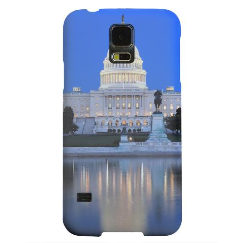Geeks Designer Line (GDL) Samsung Galaxy S5 Matte Hard Back Cover - Washington D.C.