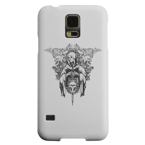 Geeks Designer Line (GDL) Samsung Galaxy S5 Matte Hard Back Cover - Inkfection on Gray