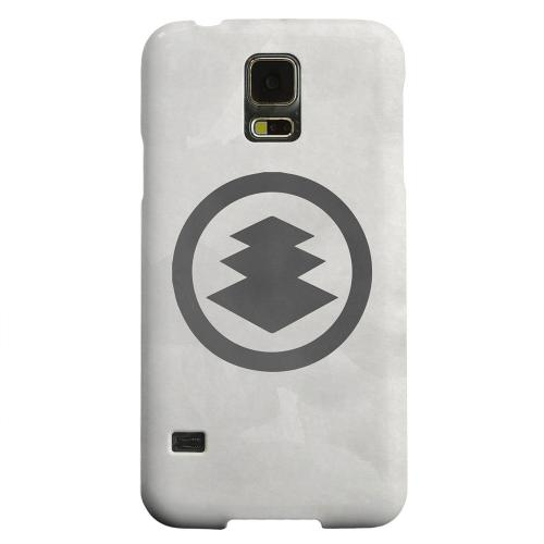 Geeks Designer Line (GDL) Samsung Galaxy S5 Matte Hard Back Cover - Hishi Kamon on Paper