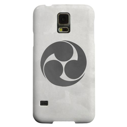 Geeks Designer Line (GDL) Samsung Galaxy S5 Matte Hard Back Cover - Tomoe Kamon on Paper v.1