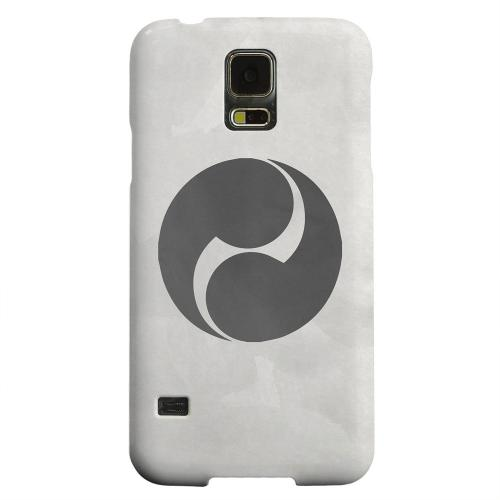 Geeks Designer Line (GDL) Samsung Galaxy S5 Matte Hard Back Cover - Tomoe Kamon on Paper v.2