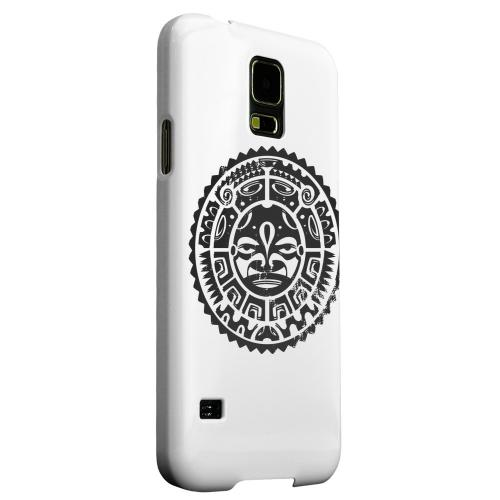 Geeks Designer Line (GDL) Samsung Galaxy S5 Matte Hard Back Cover - Polynesian Face