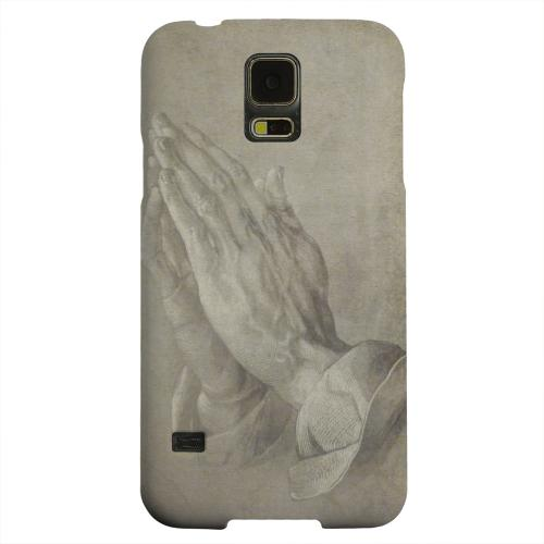 Geeks Designer Line (GDL) Samsung Galaxy S5 Matte Hard Back Cover - Albrecht Durer Praying Hands