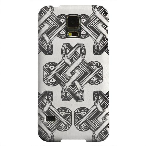 Geeks Designer Line (GDL) Samsung Galaxy S5 Matte Hard Back Cover - Tribal Art
