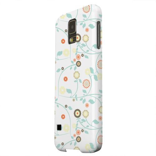 Geeks Designer Line (GDL) Samsung Galaxy S5 Matte Hard Back Cover - Floral 2 Multi-colored