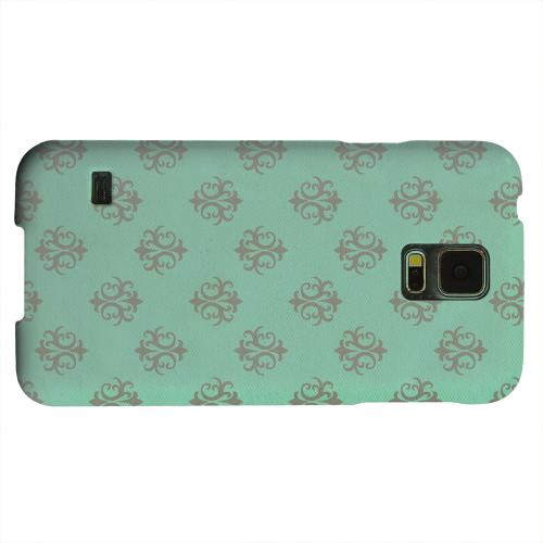 Geeks Designer Line (GDL) Samsung Galaxy S5 Matte Hard Back Cover - Ornamental Emerald